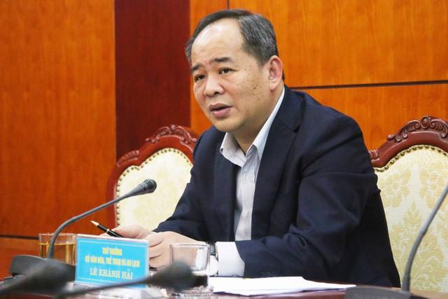 """Thứ trưởng Lê Khánh Hải: """"Chuẩn bị tốt nhất lực lượng VĐV tham dự SEA Games 30 và vòng loại Olympic 2020"""" - Ảnh 1."""
