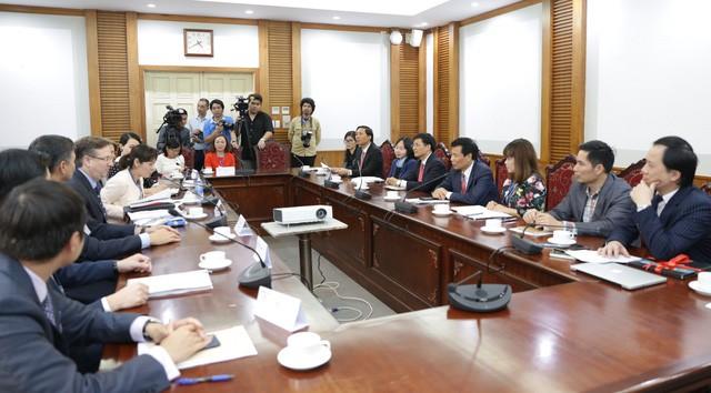Bộ trưởng Nguyễn Ngọc Thiện làm việc với Hội đồng kinh doanh Hoa Kỳ - ASEAN - Ảnh 3.