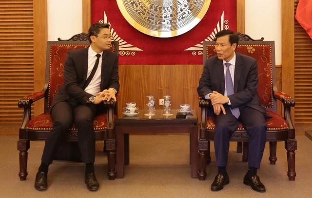 """Bộ trưởng Nguyễn Ngọc Thiện: """"Việt Nam luôn sẵn sàng tạo điều kiện cho doanh nghiệp nước ngoài đầu tư vào lĩnh vực Du lịch"""" - Ảnh 1."""