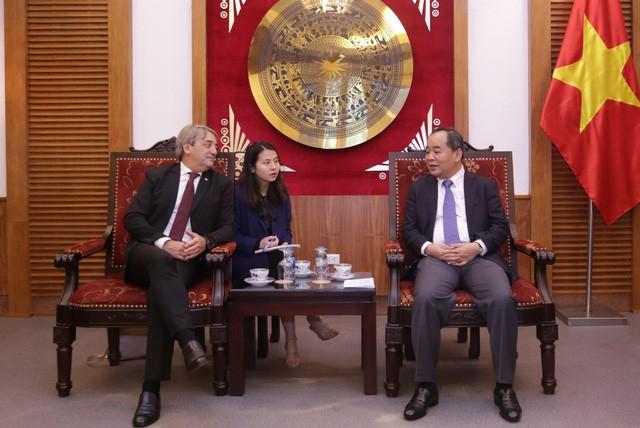 Thúc đẩy hợp tác trên lĩnh vực thể thao giữa Việt Nam - Uruguay  - Ảnh 1.