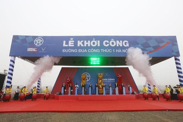 Hà Nội chính thức khởi công đường đua F1 - Ảnh 1.