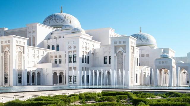 Cơ hội chiêm ngưỡng vẻ đẹp bên trong Dinh Tổng thống ở UAE - Ảnh 1.