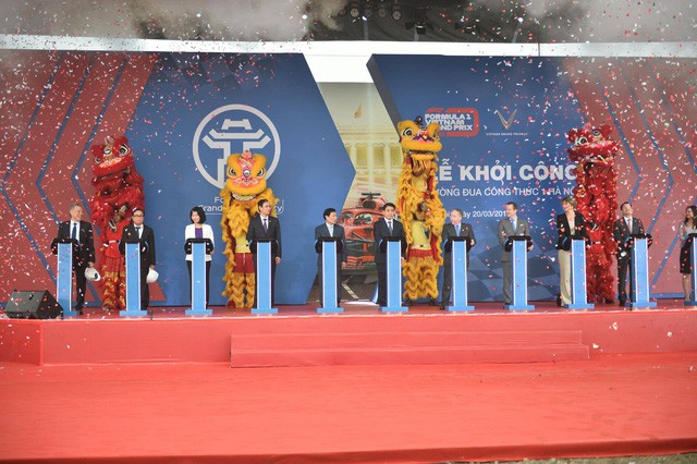 Hà Nội chính thức khởi công đường đua F1 - Ảnh 3.