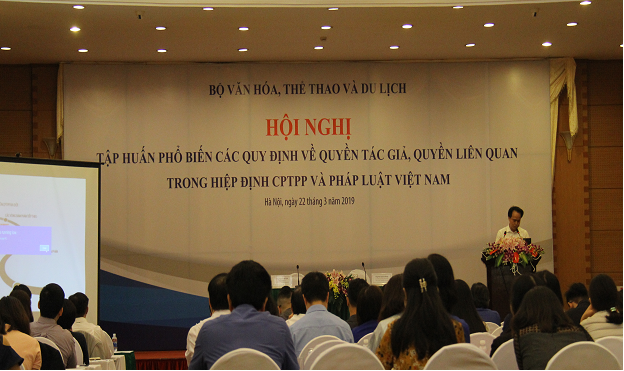 Tập huấn phổ biến các quy định về quyền tác giả, quyền liên quan trong Hiệp định CPTPP và pháp luật Việt Nam - Ảnh 1.