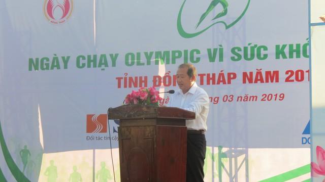 Đồng Tháp: Hơn 3.000 người tham gia Ngày chạy Olympic vì sức khỏe toàn dân - Ảnh 2.