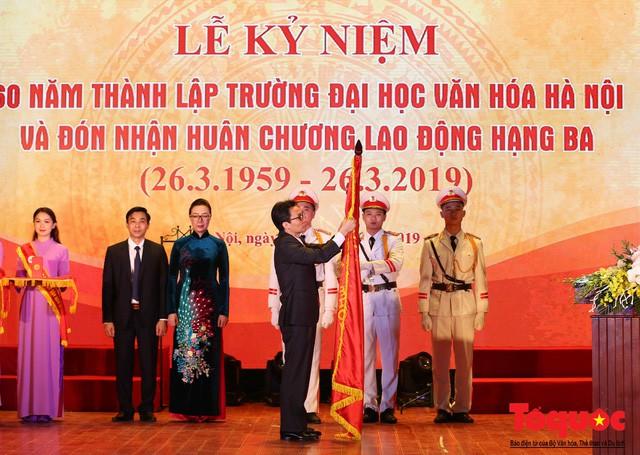 """Phó Thủ tướng Vũ Đức Đam: """"Trường Đại học Văn hóa Hà Nội phải là một trung tâm đào tạo nghiên cứu uy tín với cơ chế quản trị hiện đại""""  - Ảnh 2."""