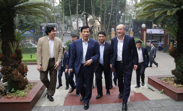 """Bộ trưởng Nguyễn Ngọc Thiện: """"Chiến thắng trước Thái Lan chính là động lực để bóng đá Việt Nam đạt được mục tiêu vô địch SEA Games 30""""  - Ảnh 1."""