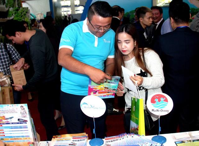 Đồng hành quảng bá du lịch Bình Thuận qua các lượt like tại Hội chợ du lịch VITM Hà Nội 2019 - Ảnh 1.