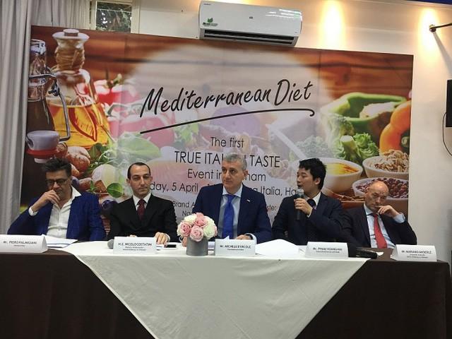 Sự kiện văn hóa ẩm thực True Italia Taste tại Hà Nội  - Ảnh 1.
