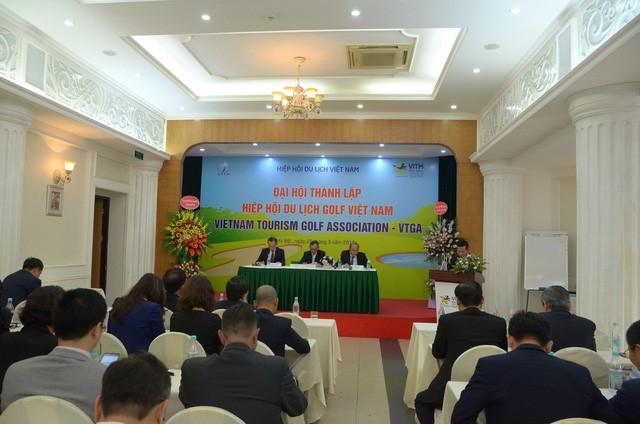 Đại hội thành lập Hiệp hội du lịch golf Việt Nam - Ảnh 3.