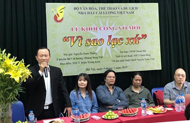 Nhà hát Cải lương Việt Nam dàn dựng vở Vì sao lạc xứ - Ảnh 1.