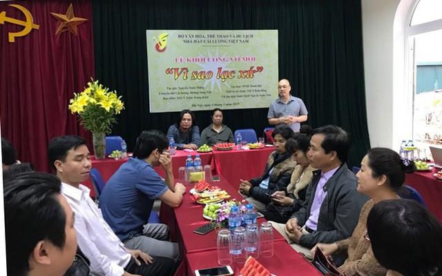 Nhà hát Cải lương Việt Nam dàn dựng vở Vì sao lạc xứ - Ảnh 2.