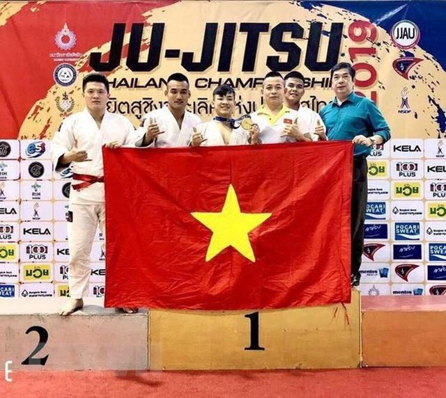 Việt Nam giành huy chương Vàng tại Giải Ju-Jitsu Thái Lan mở rộng - Ảnh 1.