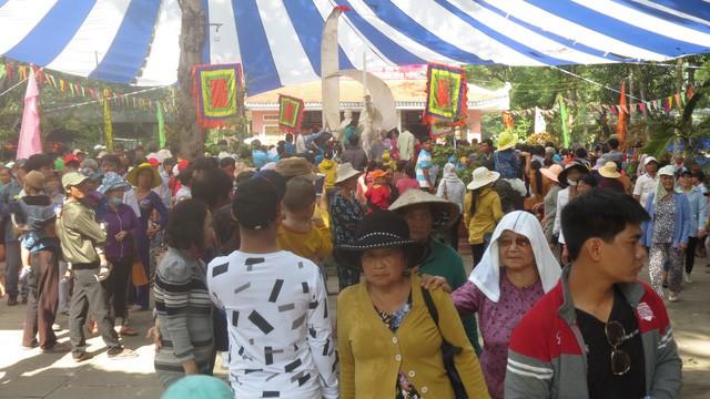 Lễ hội Vía bà Chúa xứ tại Khu di tích Gò Tháp  - Ảnh 1.