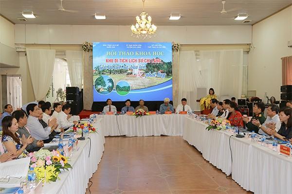 Bảo tàng Lịch sử quốc gia phối hợp tổ chức hội thảo về Khu di tích Chi Lăng, Lạng Sơn - Ảnh 1.