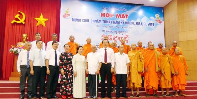 Kiên Giang: Họp mặt Tết cổ truyền Chôl Chnăm Thmây năm 2019 - Ảnh 3.