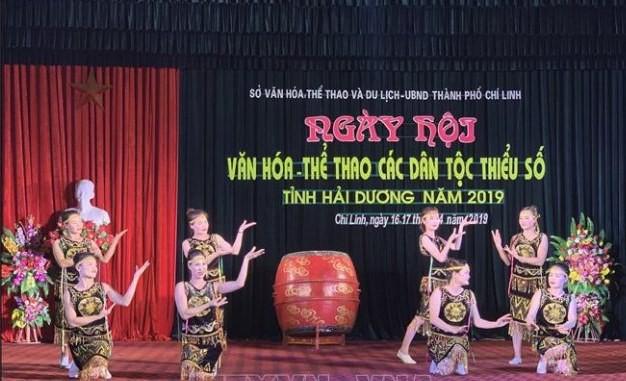 Ngày hội văn hoá, thể thao các dân tộc thiểu số tỉnh Hải Dương năm 2019 - Ảnh 1.