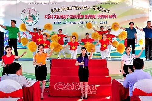 Cà Mau: Tiếp tục triển khai tổ chức các hoạt động văn hóa, thể thao hướng về cơ sở - Ảnh 1.