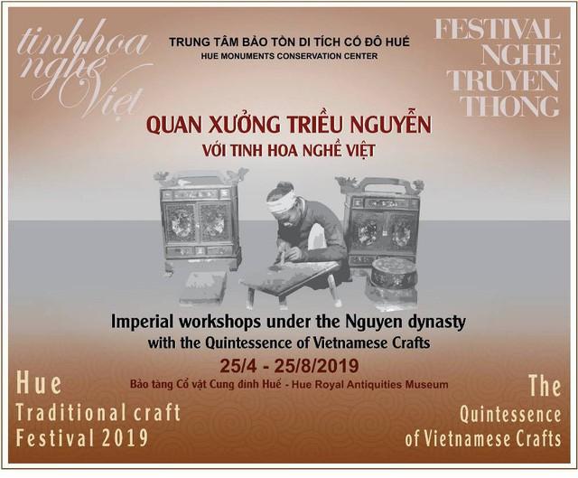 Chiêm ngưỡng tinh hoa nghề Việt dưới triều Nguyễn - Ảnh 1.