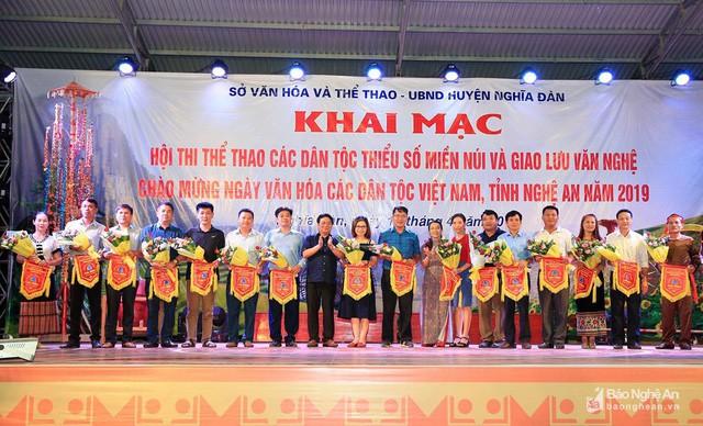 Hội thi thể thao các dân tộc thiểu số tỉnh Nghệ An năm 2019 - Ảnh 1.