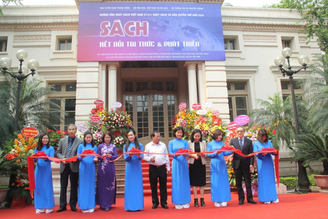 Khai mạc Ngày hội Sách năm 2019 tại Thư viện Quốc gia Việt Nam - Ảnh 2.