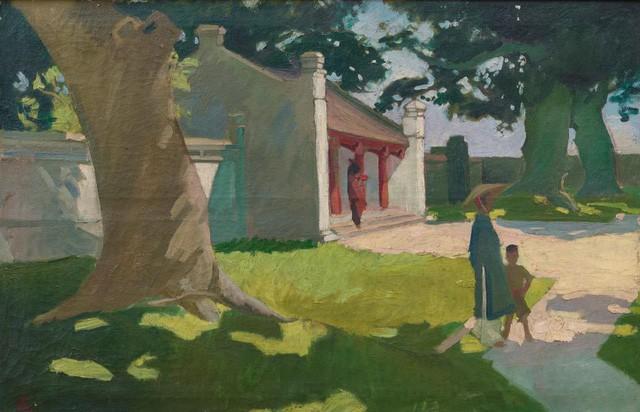 Các tác phẩm của họa sĩ Việt lên ngôi trong phiên đấu giá của Nhà Sothebys - Ảnh 1.