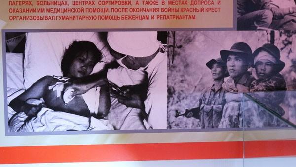 Triển lãm Nỗi đau của bạn trong tim tôi, Việt Nam tại Nga - Ảnh 3.