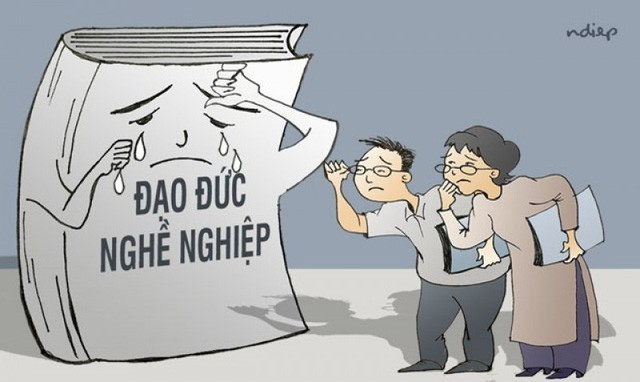 Bài 1: Đạo đức người giáo viên xuống cấp: Những con sâu làm rầu nồi canh - Ảnh 2.