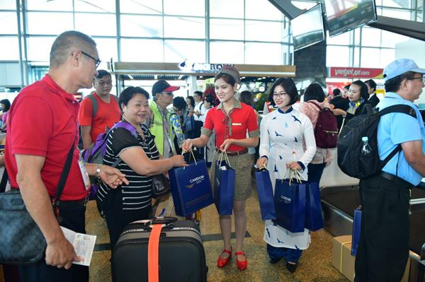 Khai trương đường bay quốc tế mới Nha Trang (Khánh Hòa) - Đài Bắc (Đài Loan) - Ảnh 1.