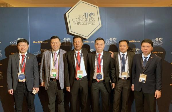 Phó chủ tịch VFF Trần Quốc Tuấn tái đắc cử vào Ban thường vụ AFC - Ảnh 1.
