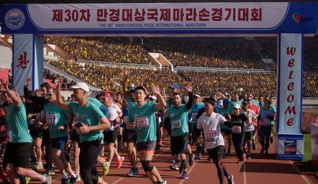 Du khách tăng vọt: Triều Tiên nóng hổi sự kiện thể thao hoành tráng - Ảnh 1.
