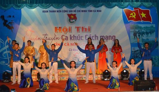 Hội thi tuyên truyền ca khúc cách mạng năm 2019 tại Cà Mau - Ảnh 1.