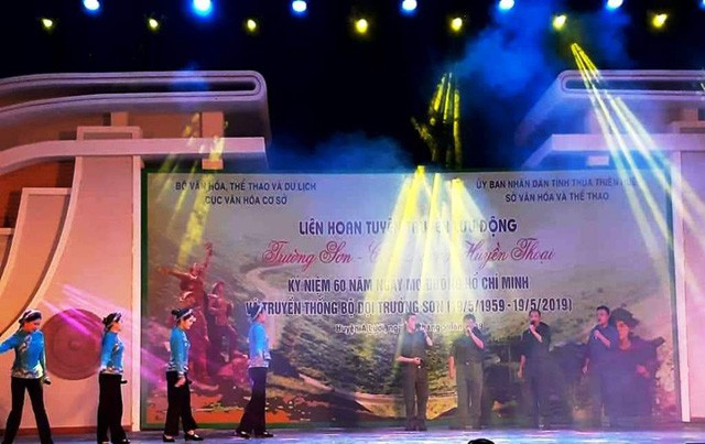 Liên hoan Tuyên truyền lưu động Trường Sơn - Con đường huyền thoại tại Thừa Thiên Huế  - Ảnh 1.