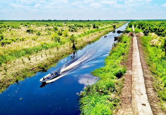 Xây dựng 9 tuyến tham quan du lịch sinh thái tại Vườn Quốc gia U Minh Thượng - Ảnh 1.