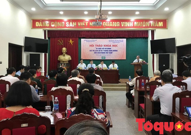 Hội thảo khoa học Di chúc Hồ Chí Minh: Giá trị lịch sử và ý nghĩa định hướng cho cách mạng Việt Nam - Ảnh 2.