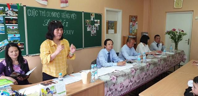 Đong đầy ý nghĩa cuộc thi Olympic tiếng Việt đầu tiên tại Kiev  - Ảnh 1.
