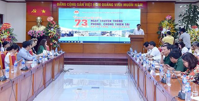 Kỷ niệm 73 năm ngày Truyền thống Phòng chống Thiên tai - Ảnh 1.