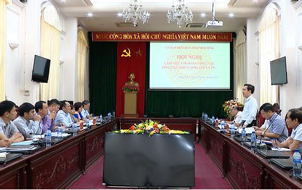 Ninh Bình triển khai kế hoạch phòng chống thiên tai 2019 - Ảnh 1.