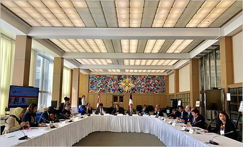Thư viện Quốc gia Việt Nam tham dự phiên họp thường niên của Đại hội đồng Mạng lưới số Pháp ngữ - Ảnh 1.