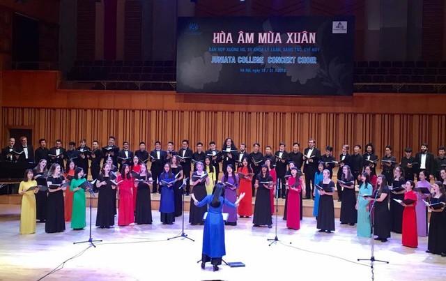 Tổ chức Chương trình biểu diễn Hợp xướng tại Học viện Âm nhạc Quốc gia Việt Nam - Ảnh 1.