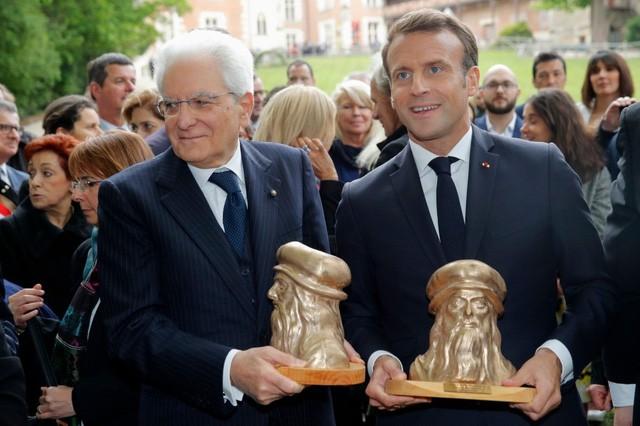 Di sản 500 năm của Leonardo da Vinci khiến Pháp, Italy tạm gác căng thẳng - Ảnh 1.