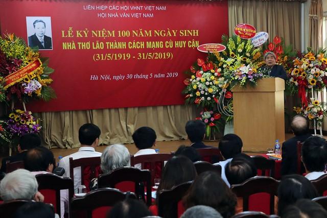 Phó Thủ tướng Vũ Đức Đam dự kỷ niệm 100 năm Ngày sinh nhà thơ cách mạng Huy Cận - Ảnh 2.