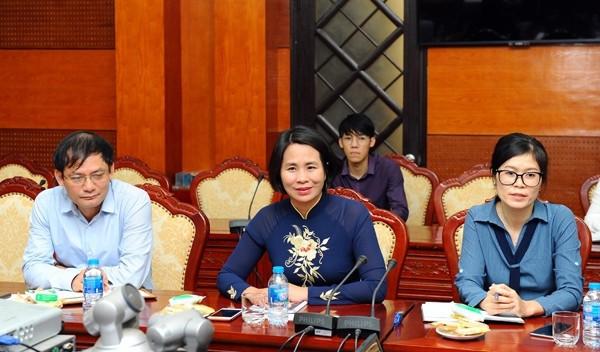 Phó Tổng cục trưởng Lê Thị Hoàng Yến tiếp Phó Chủ tịch HĐND thành phố Bangkok - Ảnh 1.