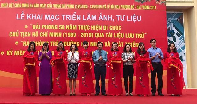 Triển lãm kỷ niệm 64 năm Ngày giải phóng thành phố Hoa Phượng đỏ - Ảnh 1.
