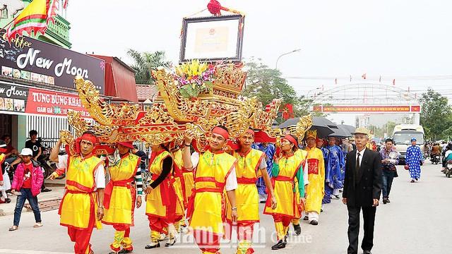 Kết quả ghi nhận sau 10 năm thực hiện Chiến lược phát triển văn hoá đến năm 2020 tại Nam Định - Ảnh 1.