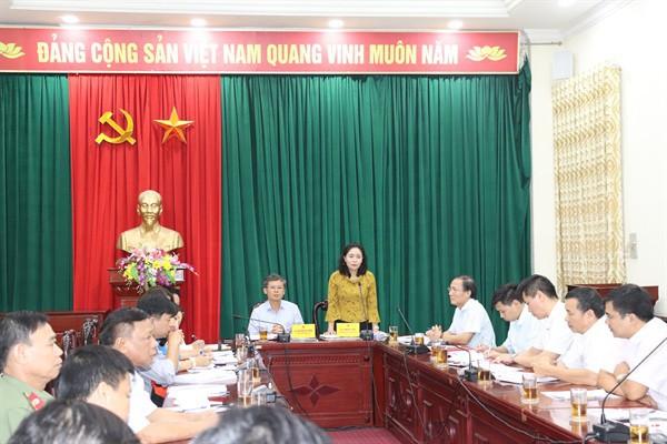 Kiểm tra việc thực hiện Phong trào toàn dân đoàn kết xây dựng đời sống văn hóa tại Hưng Yên và Hà Nội  - Ảnh 1.