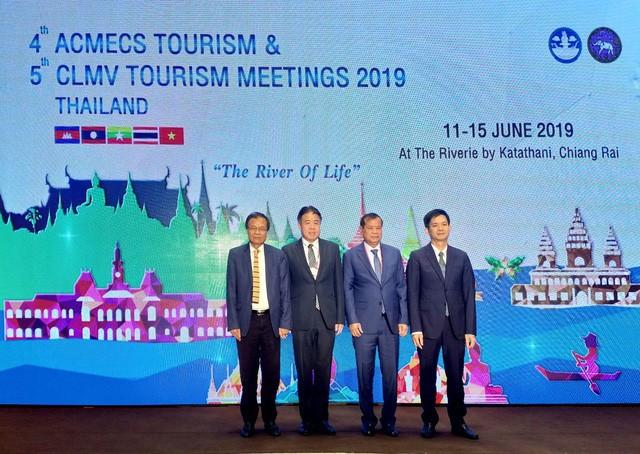 Hội nghị Bộ trưởng du lịch ACMECS lần thứ 4 và hội nghị Bộ trưởng du lịch CLMV lần thứ 5 tại Thái Lan - Ảnh 2.