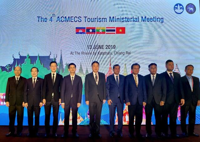 Hội nghị Bộ trưởng du lịch ACMECS lần thứ 4 và hội nghị Bộ trưởng du lịch CLMV lần thứ 5 tại Thái Lan - Ảnh 3.