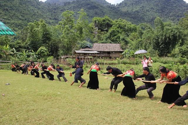 Hội thi thể thao các dân tộc thiểu số tỉnh Lào Cai lần thứ VI - Ảnh 1.