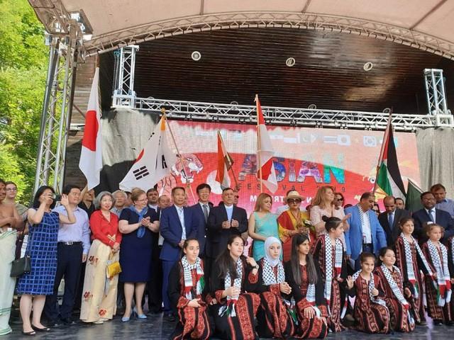 """Ấn tượng Festival Asian """"Kỳ diệu phương Đông"""" tại Bulgaria - Ảnh 1."""